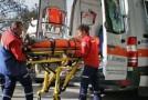 Accidentată în timp ce traversa strada