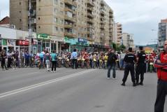 Competiţiile de ciclism restricţionează traficul în municipiu