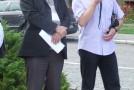 Sindicaliştii sălăjeni protestează la Bucureşti