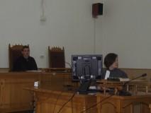 Simulacru de proces penal cu liceeni, la Zalău