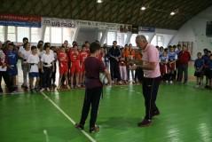 Elevi din 11 şcoli au participat la prima competiţie de rugby-tag din Sălaj