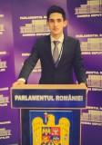Un tânăr şimleuan a dezbătut problemele învăţământului românesc în Plenul Parlamentului