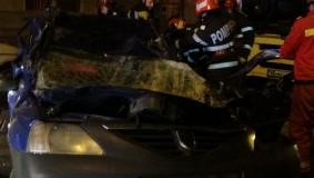 Accident grav în Zalău