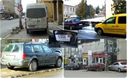 Nesimţirea la volan: Când îţi faci din trotuar, parcare