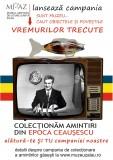 La muzeu –  colectare de obiecte din perioada comunistă
