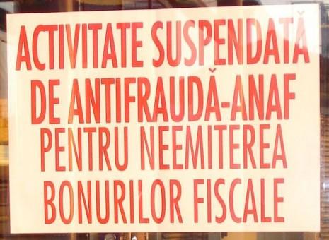 Magazine închise, confiscări de bani şi amenzi cu nemiluita: după inspectorii antifraudă, potopul!