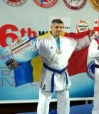 Zălăuanul Dan Chiş a devenit în premieră vicecampion mondial la karate