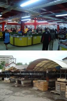 De azi, Piaţa centrală e pustie: S-a deschis noua HALA AGROALIMENTARA