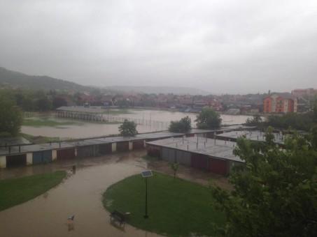 Cod ROŞU de inundaţii: Sălajul sub ape!