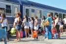 """Începe programul estival de transport """"Trenurile Soarelui"""""""