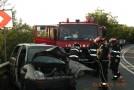Accident cu două victime încarcerate în Ciumărna