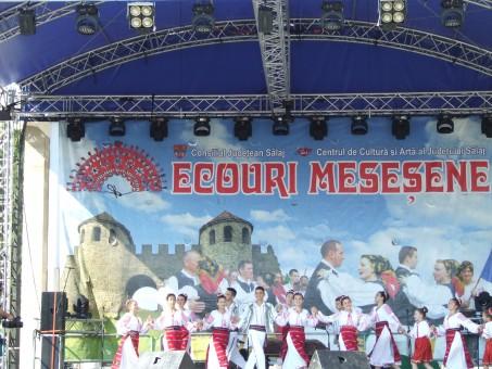 """În centrul Zalăului, bucate tradiţionale, cântec, joc şi voie bună la """"Ecouri Meseşene"""""""