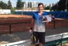 Libero-ul vicecampioanei, bun şi la tenis de câmp