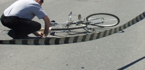 Biciclist accidentat în Zalău