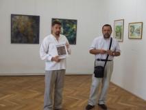 """La Galeria de Artă """"Ioan Sima"""",  expoziţie cu lucrări de artă realizate în tabăra de la Jebucu"""