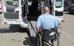 La Zalău,  taxiuri pentru persoanele cu handicap