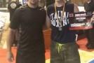 Luptătorul zălăuan David Gaidoş, câştigător la Gala de kickbox de la Dej