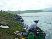 Concurs de pescuit sportiv pentru sindicaliştii sălăjeni