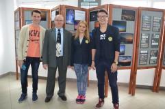 """Săptămâna Mondială a Spațiului Cosmic, marcată la Colegiul Tehnic """"Alesandru Papiu Ilarian"""" Zalău"""
