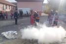 Exerciţiu de alarmare şi evacuare la Şcoala Gimnazială din Crişeni