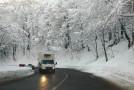 Pe drumurile Sălajului se circulă în condiţii de iarnă