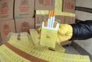 Contrabandist de ţigări, surprins în Bălan