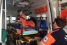 Accident cu patru victime la Ileanda în urma unui impact frontal între un tir şi o autoutilitară