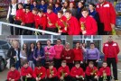 Fotbaliştii de la CS Viitorul au împărţit flori de 8 Martie