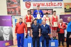 """Luptătorul Darius Puşcaş, medaliat cu bronz la """"Naţionalele"""" de la Odorheiul Secuiesc"""
