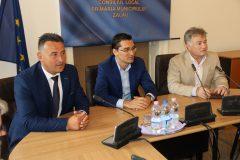 Preşedintele FRF s-a întâlnit cu primarul Zalăului, Ionel Ciunt