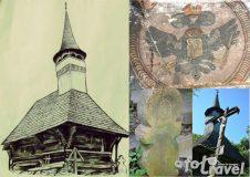 Secretele bisericii de lemn din Bulgari