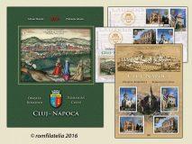 Noutăţi filatelice: Descoperă Cluj-Napoca în universul timbrelor