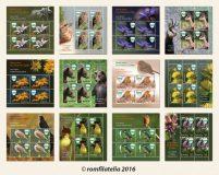Noutăţi filatelice: Rarități ale naturii, pe timbrele românești