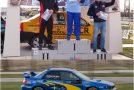 Zălăuanul Szabo Robert, debut pe podium în Campionatul Internaţional de Rally Sprint
