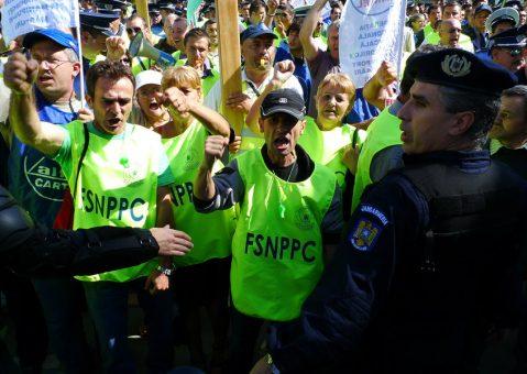 Trei zile de proteste în stradă: polițiștii sălăjeni cer mai mulți bani pe fluturașul de salariu