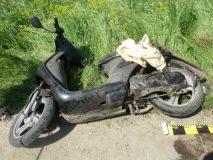 Tânăr din Nușfalău, grav rănit după ce s-a răsturnat cu mopedul