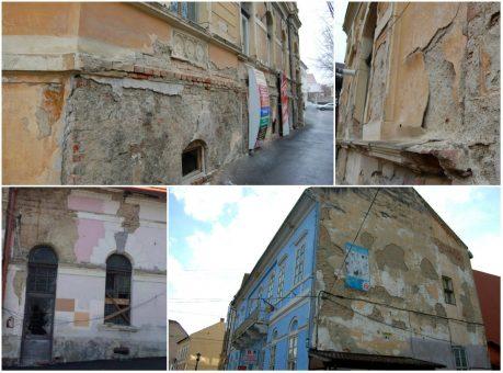 Ipocrizie municipală: impozit mai mare cu 500 la sută pentru clădirile neîngrijite din Zalău