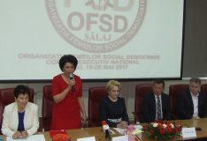 Municipiul Zalău a găzduit lucrările Comitetului Executiv al Organizației femeilor social democrate din România
