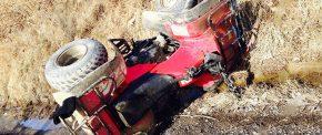 Rănit grav într-un accident cu ATV-ul