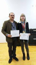 """Elevă a Colegiului """"API"""" Zalău, premiată la un concurs regional de matematică"""