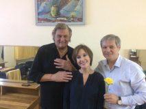 Dacian Cioloş şi Florin Piersic şi-au dat întâlnire la Zalău