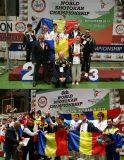 Clasări pe podiumul mondial pentru sportivii de la CS Dani-San Zalău şi CS Omega Şimleu Silvaniei