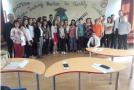 """Elevii Liceului Pedagogic """"Gheorghe Şincai"""" Zalău, marii câştigători ai olimpiadei """"Tinerii dezbat"""""""