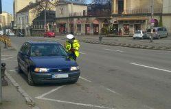 Acțiune a Poliției județene pentru prevenirea evenimentelor rutiere