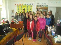 """Elevii de gimnaziu din Jibou au participat la """"Sărbătoarea Stegulețelor"""""""