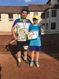 """Tenismen şimleuan, câştigător al """"Cupei Alpa"""" de la Deva"""