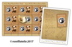 Noutăţi filatelice: 60 de ani, Muzeul Naţional al Literaturii Române