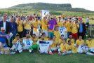 Dumbrava Gîlgău este noua campioană judeţeană la fotbal