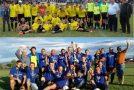 Unirea Hereclean şi Olimpia Rus, câştigătoarele celor două serii din Liga a V-a de fotbal