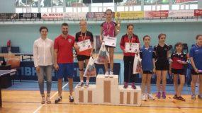 """Tenismena Demjen Eszter, la un pas de podiumul concursului """"Top 12"""""""